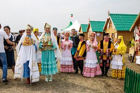 Областной сабантуй прошел в Соль-Илецке.